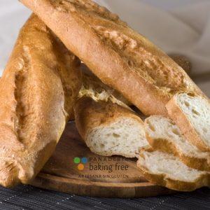 barra de pan panadería sin gluten baking free