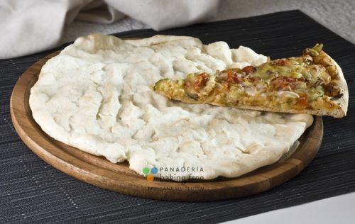 base pizza panadería sin gluten baking free