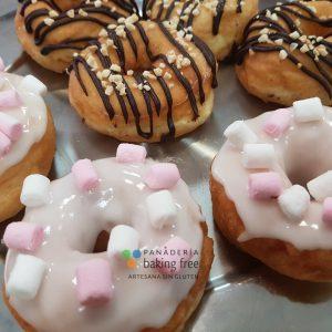 berlina decorada panadería sin gluten baking free