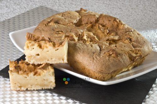 coca de llanda manzana panadería sin gluten baking free