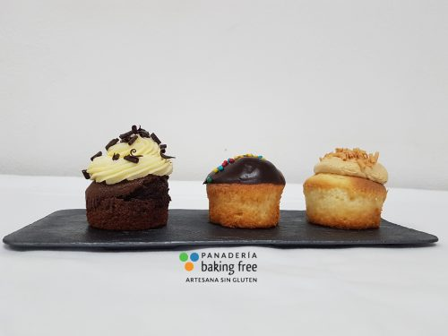 cupcake panadería sin gluten baking free