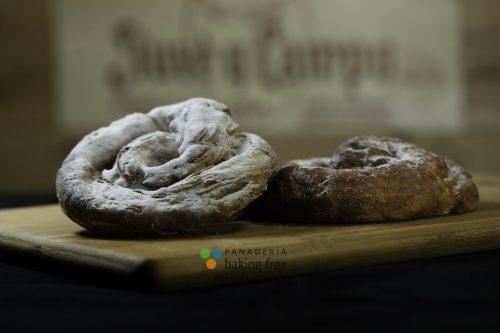 ensaimada hojaldrada panadería sin gluten baking free