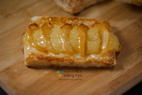 hojaldre tarta manzana panadería sin gluten baking free
