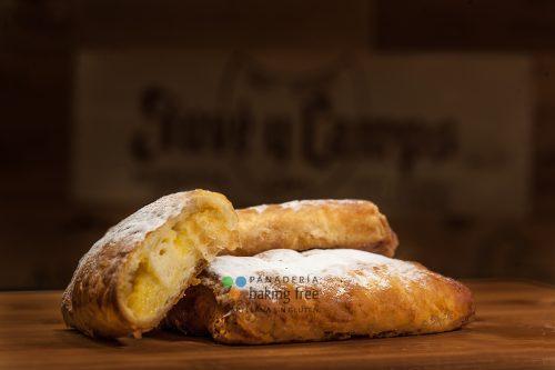 napolitana de crema pandería sin gluten baking free