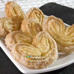 palmeritas panadería sin gluten baking free
