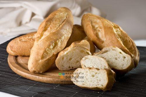 pan bocadillo panadería sin gluten baking free