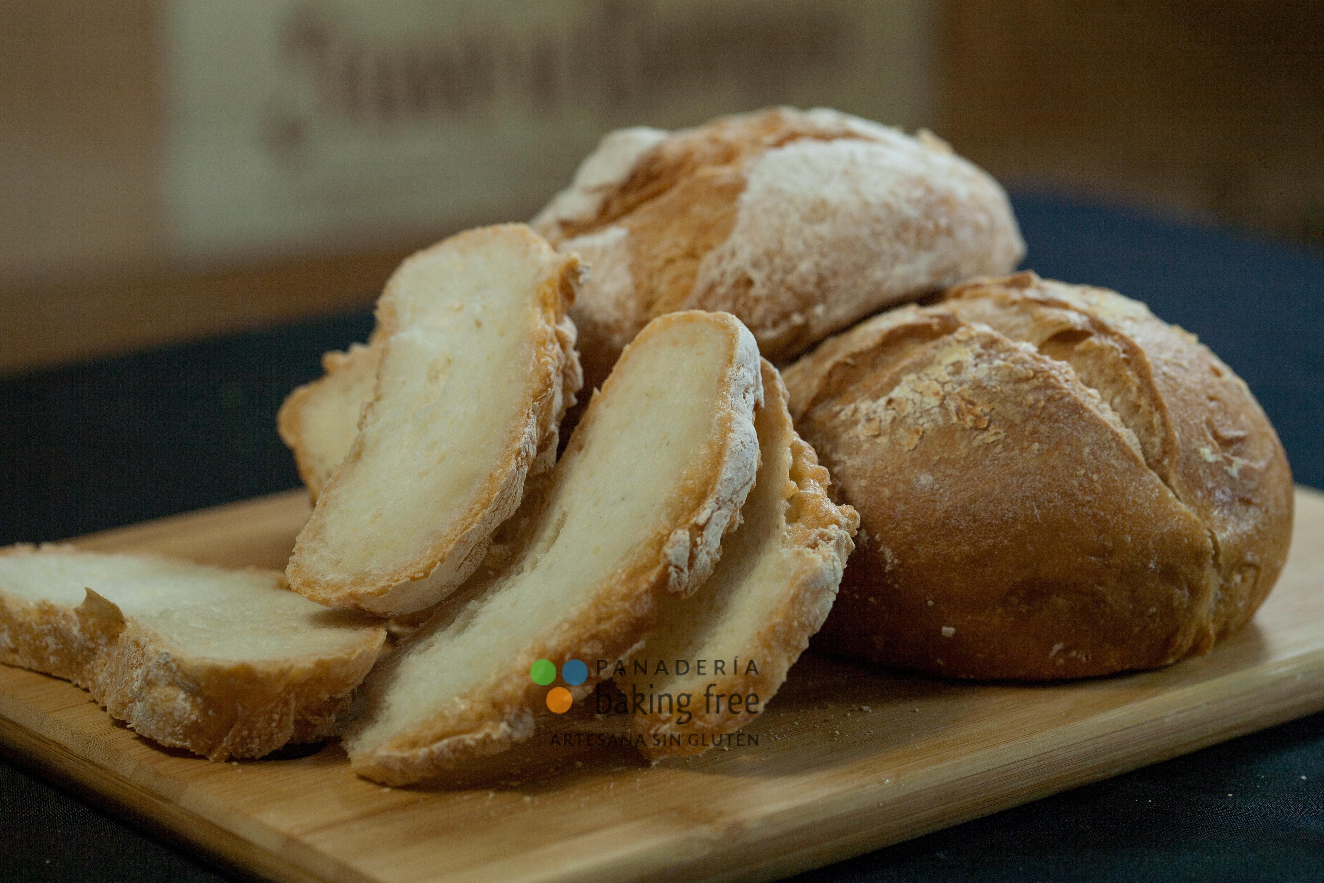 pan rústico panadería sin gluten baking free