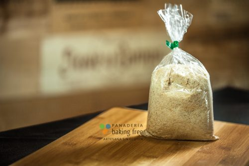pan rallado panadería sin gluten baking free