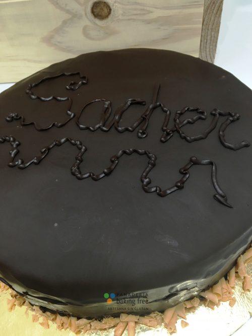 tarta sacher panadería sin gluten baking free
