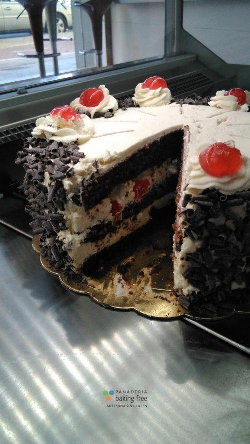 tarta selva panadería sin gluten baking free