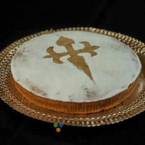 tarta de santiago panadería sin gluten baking free