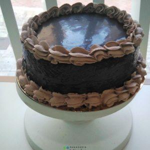 tarta tres chocolates panadería sin gluten baking free