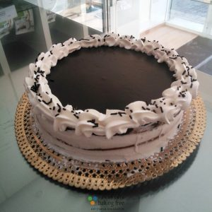 tarta de chocolate sin huevo panadería sin gluten baking free
