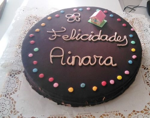 tarta personalizada panadería sin gluten baking free
