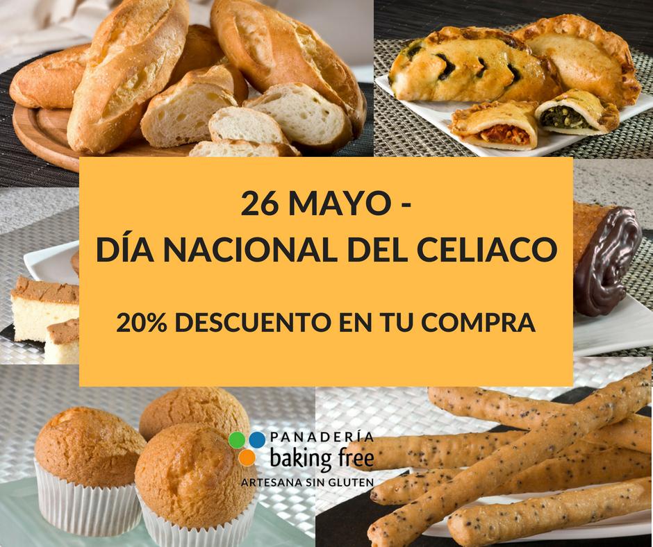 dia nacional del celiaco sin gluten sin lactosa baking free