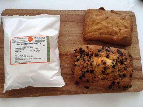 PREPARADO BIZCOCHO SIN GLUTEN SIN LACTOSA panadería SIN gluten baking free